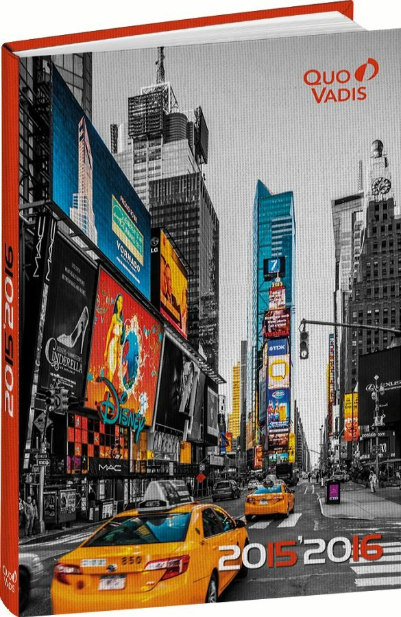 Image For Diario 12 mesi Eurotextagenda Cities Quo Vadis. Big Apple