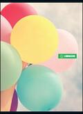 Quaderno A5 Libraccio. 1 rigo - Balloons