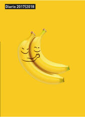 Diario Libraccio.it 2017-2018, 12 mesi. Lovely Bananas