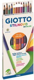 Pastelli Giotto Stilnovo Bicolor astucci