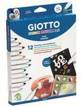 Pennarelli Giotto Decor Materials. 12 pe