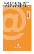 Blocco Notes Spirale Mitama 10x15. Quadr