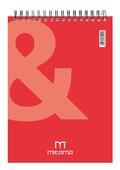 Blocco Notes con Spirale Mitama 15x21. Q