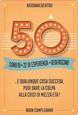 Frasi Auguri Compleanno 50 Anni