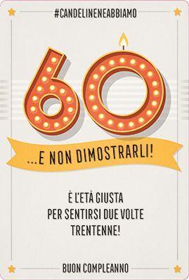 Auguri Di Buon Compleanno Uomo 60 Anni