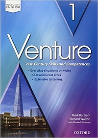 Venture: standard. Student book Workbook. Con espansione online. Con CD Audio. Vol.1: libro