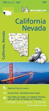 California-Nevada 1:1.267.200. Ediz. inglese