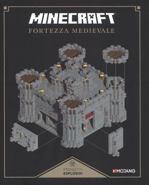 Minecraft fortezza medievale libro for Piani di casa castello medievale