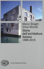 Storia dell'architettura italiana (1985-2012)