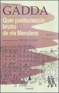 BRUTTO DE QUER MERULANA PASTICCIACCIO PDF VIA