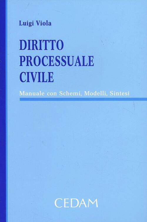 Diritto processuale civile manuale con schemi modelli for Registro casa schemi