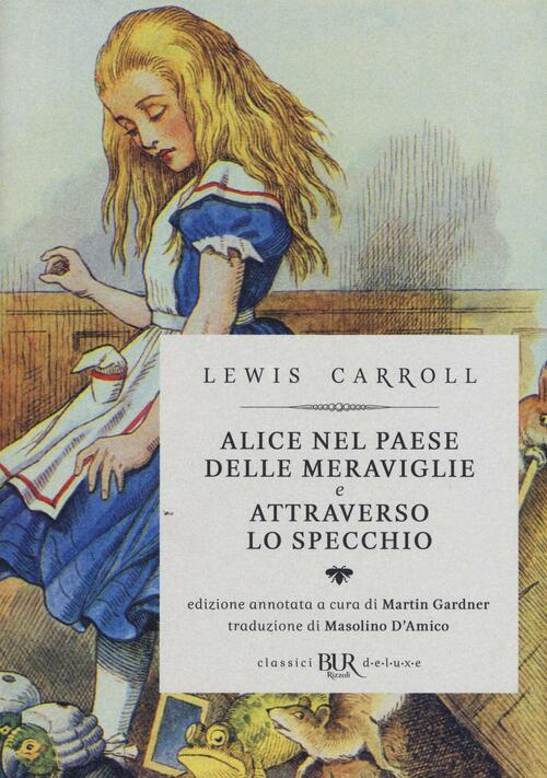 Alice nel paese delle meraviglie attraverso lo specchio - Poesia lo specchio ...