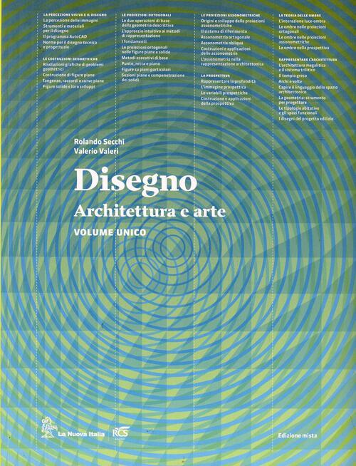 Disegno architettura e arte con eserciziario con e book for Strumento di disegno di architettura online