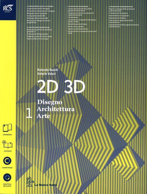 2d 3d disegno architettura arte con eserciziario con for Disegno di architettura online