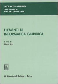 Elementi di informatica giuridica: libro