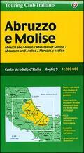 Abruzzo. Molise 1:200.000