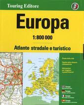 Europa. Atlante stradale e turistico 1:800.000. Ediz. multilingue