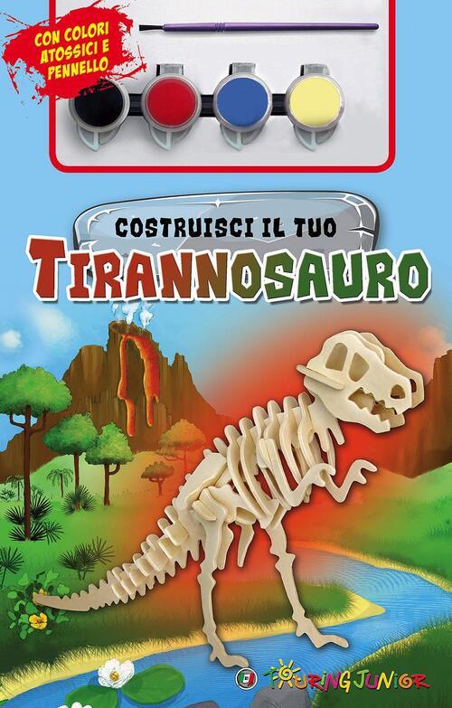 Costruisci il tuo tirannosauro con gadget libro for Costruisci il tuo bungalow