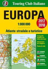 Europa. Atlante stradale e turistico 1:800.000