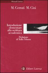Introduzione elementare alla scrittura accademica