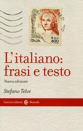 L' italiano: frasi e testo
