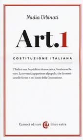 Costituzione italiana: articolo 1