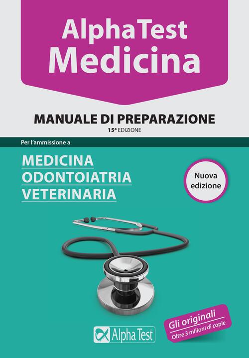 Alpha test medicina odontoiatria veterinaria manuale for Test medicina online