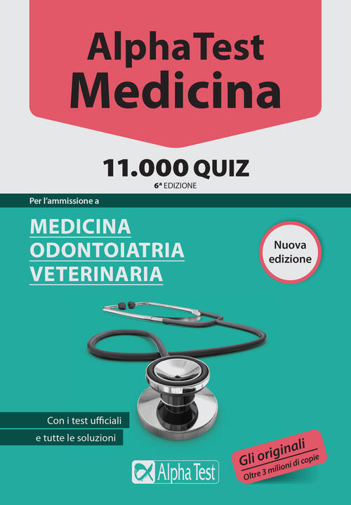 Alpha test medicina odontoiatria veterinaria for Test scienze politiche