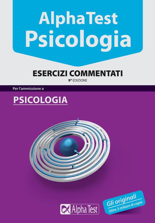 Alpha test psicologia esercizi commentati libro for Test scienze politiche
