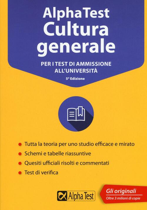 Alpha test cultura generale per i test di ammissione all for Test scienze politiche