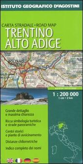 Trentino Alto Adige 1:200.000. Ediz. multilingue