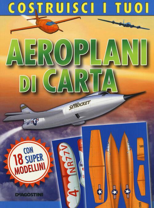 costruisci i tuoi aeroplani di carta con gadget libro
