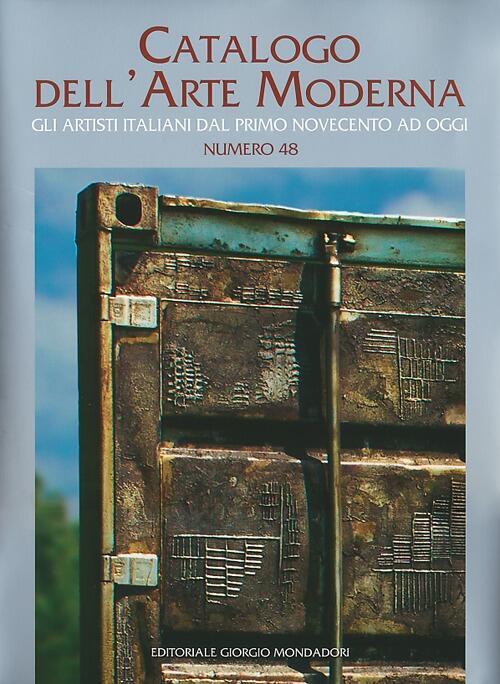 Catalogo dell 39 arte moderna vol 48 gli artisti italiani for Moderna catalogo