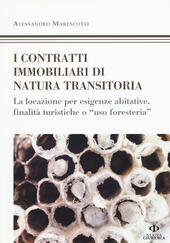 I contratti immobiliari di natura transitoria la - Locazione foresteria ...