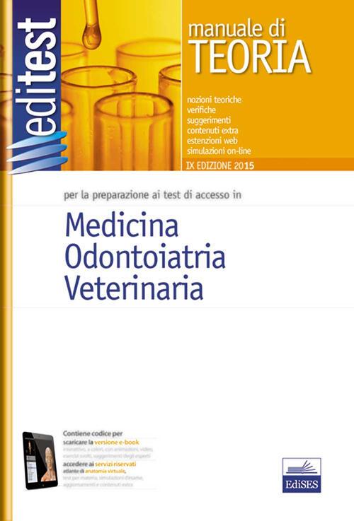 Editest 1 manuale medicina odontoiatria veterinaria for Test di medicina simulazione
