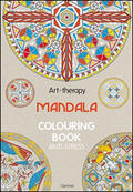 Art therapy. Mandala. Colouring book ant