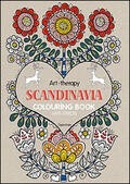 Art therapy. Scandinavia. Colouring book