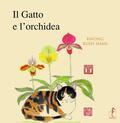 gatto e l'orchidea