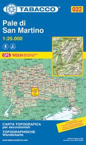 Pale di San Martino 1:25.000