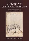 Autografi dei letterati italiani. Il Qua