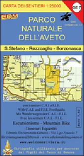 GE 7 Parco naturale dell'Aveto. S. Stefano, Rezzoaglio, Bornasca. GE 7 scala 1:25.000