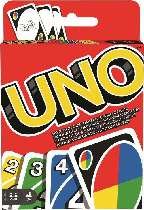 6744 ONU-MATTEL w2087 gioco di carte gioco di società gioco di famiglia dal 7