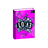 Diario Seven The Double 2020-2021, 16 mesi, Pocket Drawing Love. Rosa