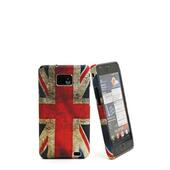 Vintage UK Flag cover per Samsung Galaxy S II