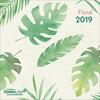Calendario 2019 TeNeues GreenLine mini 17,5 x 17,5. Floral