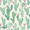 Calendario 2019 TeNeues GreenLine 30 x 30. Floral