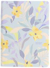 Agenda 2020 Letts Flexi Pattern Mix - Botanical settimanale A6 Blu. Blue
