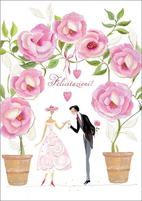 37ea227fa1c8 Biglietto matrimonio Turnowsky. Coppia - Libraccio.it