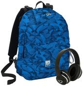 Zaino reversibile Seven The Double Project Special Edition Avio Blue Blu
