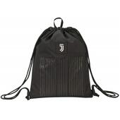 Zaino coulisse Juventus Sakky Bag Bianco e nero. Black and White